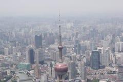 Dessus de la perle à Changhaï image libre de droits