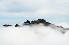Dessus de montagne Photos libres de droits