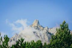 Dessus de montagne Photo stock