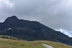 Dessus de montagne Photos stock