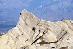 Dessus de montagne dans Death Valley Image libre de droits