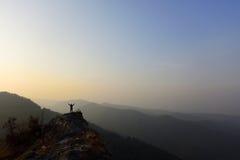 Dessus de montagnes Photos libres de droits