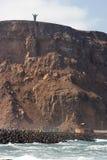 dessus de monument de falaise Photo stock