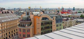 Dessus de Moscou photos libres de droits