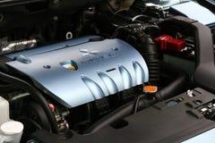 Dessus de moteur de Mitsubishi Mivec Lancer Photos libres de droits