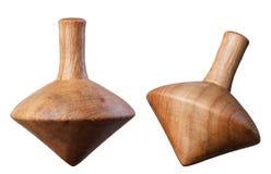 Dessus de rotation en bois Image libre de droits