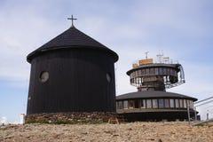 Dessus de Snezka - montagnes géantes Photos libres de droits