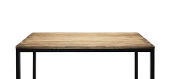 Dessus de table en bois photographie stock