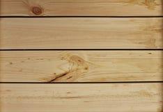 Dessus de table en bois léger Photographie stock