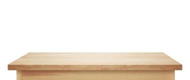 Dessus de table en bois léger photo libre de droits