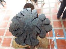 Dessus de Tableau de la côtelette en bois Photographie stock libre de droits