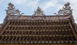 Dessus de temple chinois Photo stock