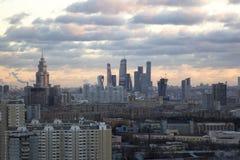 Dessus de toit à Moscou Photographie stock