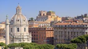 Dessus de toit à Rome, Italie Images libres de droits