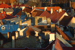 Dessus de toit Image libre de droits