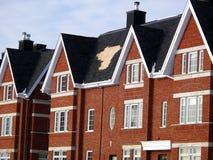 dessus de toit cassé Image stock