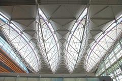 Dessus de toit d'aéroport de San Francisco Photographie stock