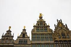 dessus de toit d'Anvers Photos libres de droits
