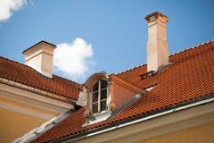 Dessus de toit dans la campagne Images libres de droits