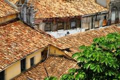 Dessus de toit dans le Salvador de Bahia Images libres de droits