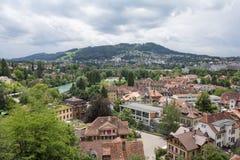 Dessus de toit de Berne Photos stock