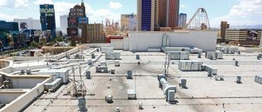 Dessus de toit de casino Images stock