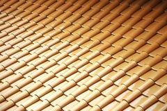 Dessus de toit de chinois traditionnel Images stock