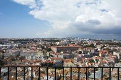 Dessus de toit de Lisbonne Photo libre de droits