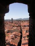 Dessus de toit de Lucca Photographie stock libre de droits