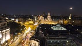 Dessus de toit de Madrid images libres de droits