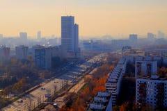 Dessus de toit de Moscou Image stock