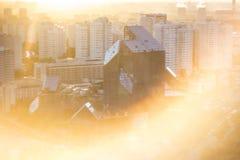 Dessus de toit de Moscou Photos libres de droits