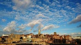 Dessus de toit de Nottingham Photo libre de droits
