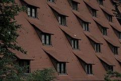 Dessus de toit de Nuremberg Image libre de droits