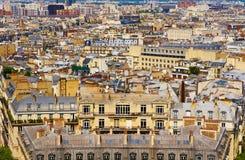Dessus de toit de Paris Photos stock