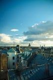 Dessus de toit de Riga Photographie stock libre de droits