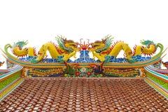 Dessus de toit de temple Photo libre de droits