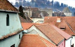 Dessus de toit de ville Photos stock
