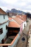 Dessus de toit de ville Photos libres de droits