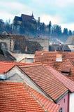Dessus de toit de ville Image stock