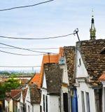 Dessus de toit de Zemun à Belgrade Photographie stock libre de droits