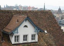 Dessus de toit de Zurich Images libres de droits