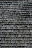 Dessus de toit en bois Images libres de droits