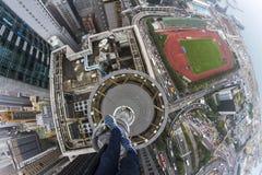 Dessus de toit en Chine Photos libres de droits