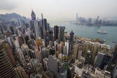 Dessus de toit en Chine Photographie stock