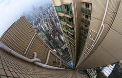Dessus de toit en Chine Photos stock