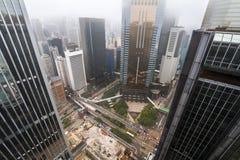 Dessus de toit en Chine Images stock