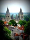 Dessus de toit français photos libres de droits