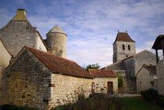 Dessus de toit français de Les Arques, France Images libres de droits