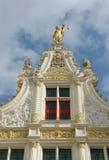 Dessus de toit merveilleux à Bruges Photo stock